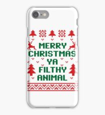 Filthy Animal Sweater iPhone Case/Skin