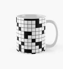 Crossword Pattern Mug