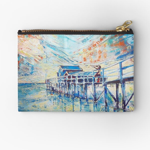 Waiting, For Hope Is Not Lost Zipper Pouch