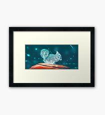 Squirrel, Spirit Animal Framed Print