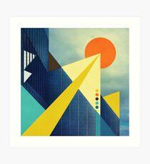 Heaven's Launchpad Art Print