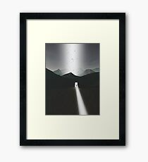 There are no shortcuts in life only those we imagine Framed Print