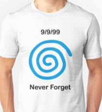 Dreamcast Never Forget (PAL) T-Shirt