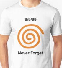 Dreamcast Never Forget (NTSC) T-Shirt