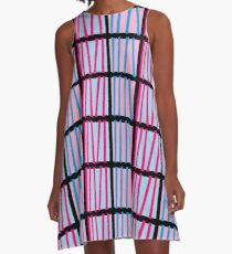 Stripes 2 A-Line Dress