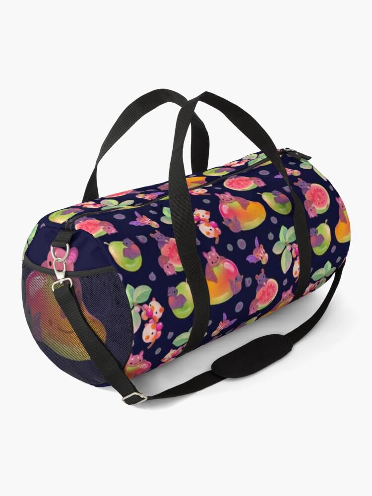 Alternate view of Fruit and bat - dark Duffle Bag