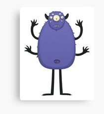 Monster Character #8 Canvas Print