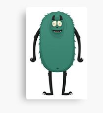 Monster Character #9 Canvas Print