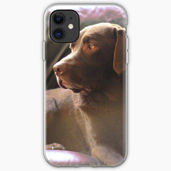 Daydream Chocolate Labrador iPhone Soft Case