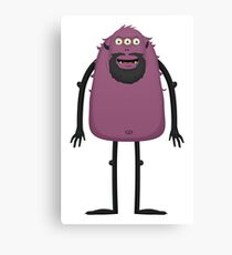 Monster Character #10 Canvas Print