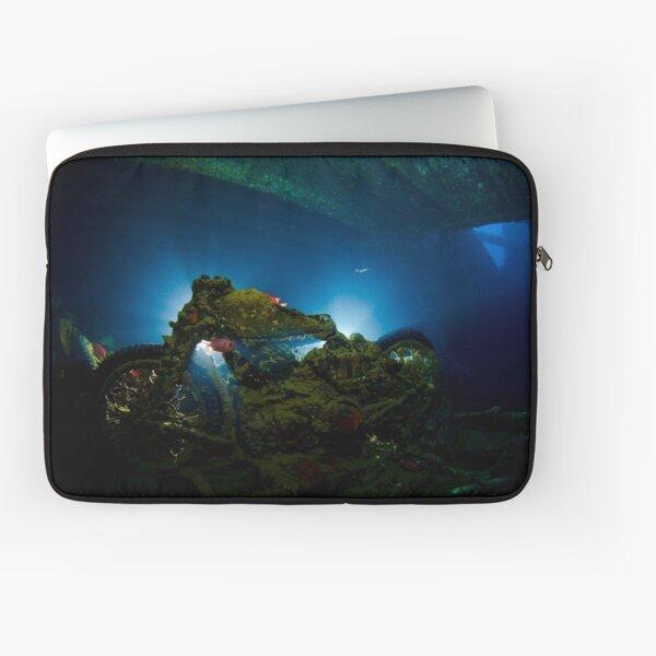Underwater Motorbike Laptop Sleeve