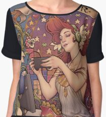 Gamer girl Nouveau Chiffon Top