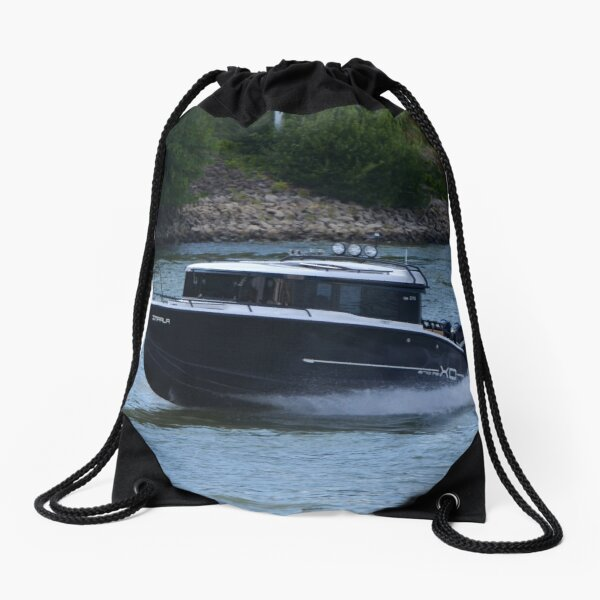 Powerboat Impala Drawstring Bag