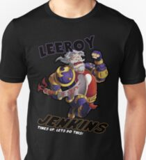 Leeory Jenkins: Die Zeit ist abgelaufen! Slim Fit T-Shirt