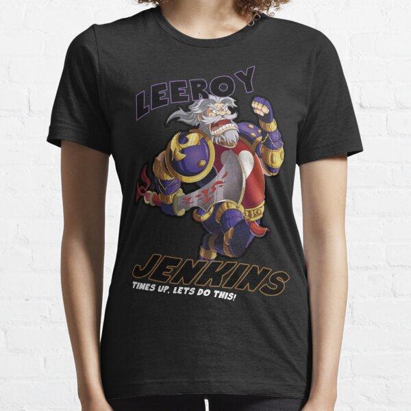 Leeory Jenkins: ¡se acabó el tiempo! Camiseta esencial