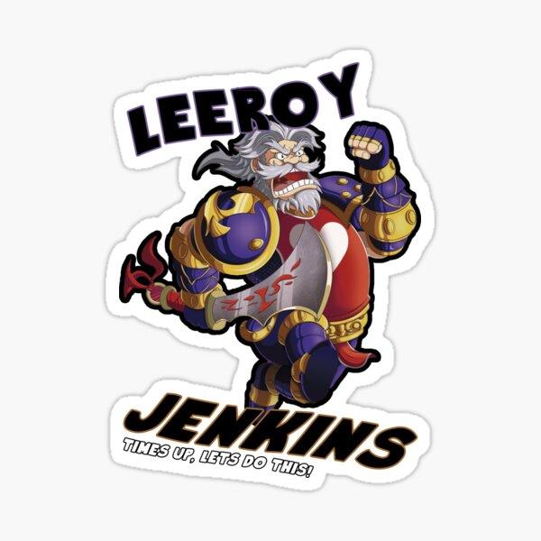 Leeory Jenkins: Time's Up! Sticker