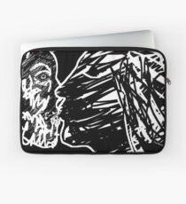 the kiss -(040811)- digital art/ms paint Laptop Sleeve