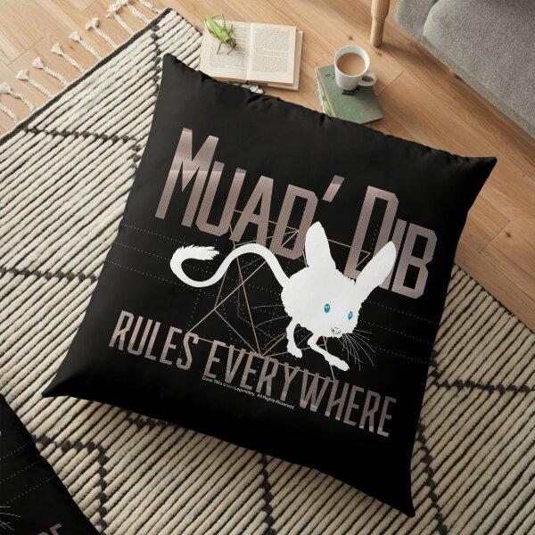 Muad Dib Rules Everywhere-Dune-Arrakis Desert Mouse Floor Pillow