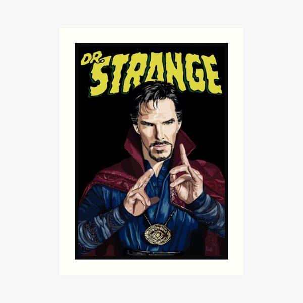 """Strange"" Art Print"