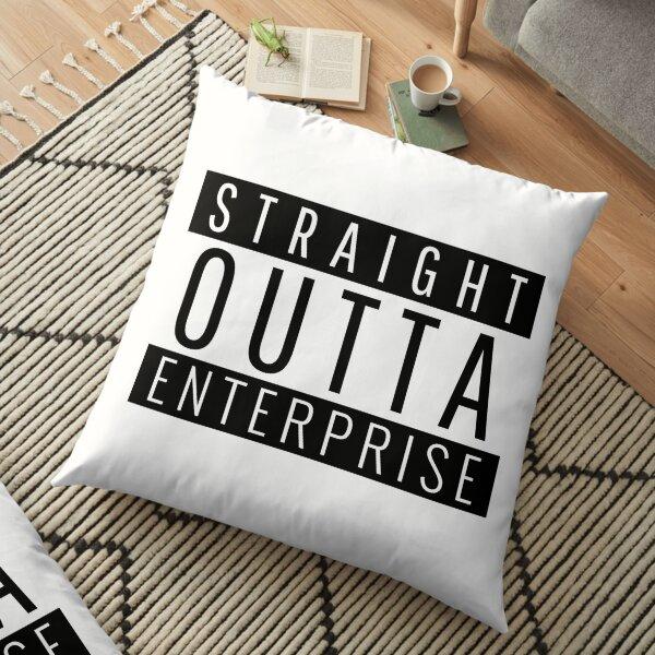 Straight Outta Enterprise Alabama  Floor Pillow