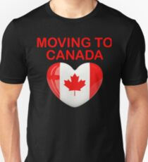 Moving to Canada if Trump Wins Shirt - Anti Trump Shirt T-Shirt