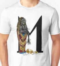 M is for Mummy Watercolor Painting Unisex T-Shirt