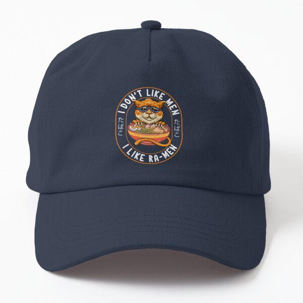 Spicy Ramen Noodle Cat - Pets Japanese Ramen Lover Accessory Dad Hat