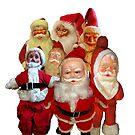 Vintage Christmas Santa Thugs Collage  by hilda74