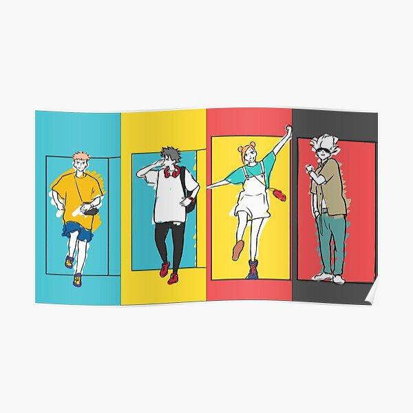 4K Jujutsu Kaisen outro - cool gift for anime lovers - Halloween  Poster