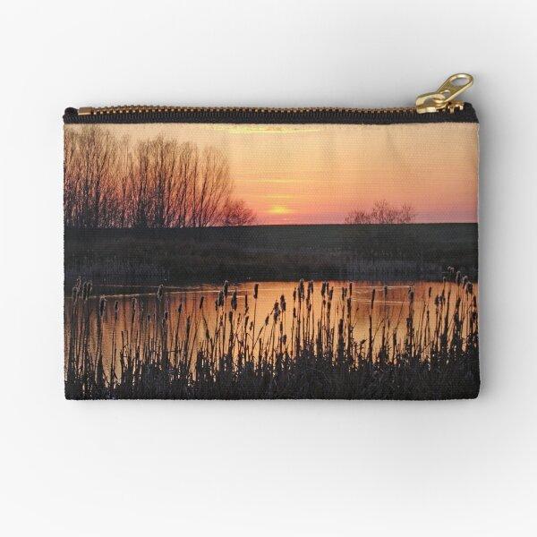 On Golden Pond Zipper Pouch
