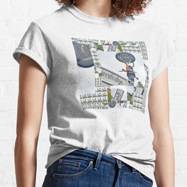 Street Sign Barbie Vintage Glitch Art Classic T-Shirt