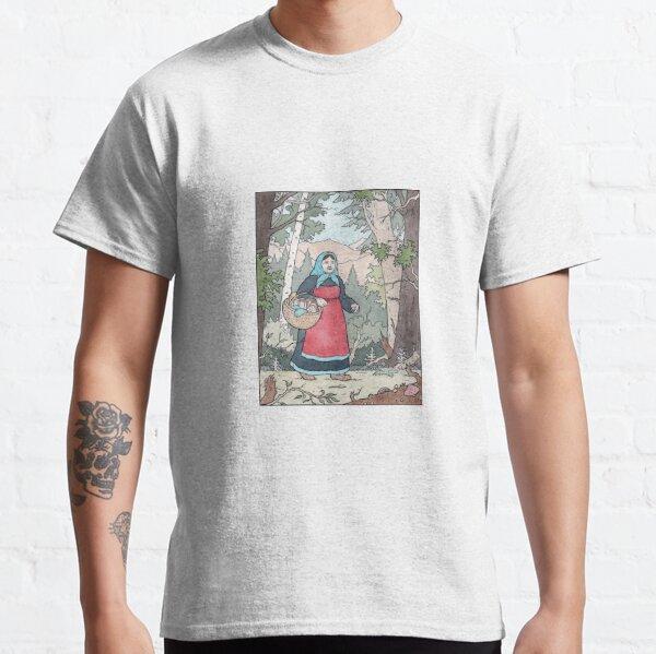 Babushka on her travels Classic T-Shirt