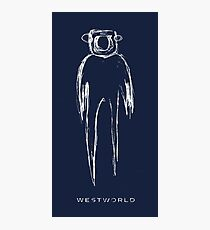 Westworld - the shadow Photographic Print