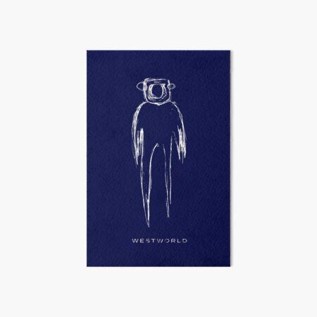 Westworld - the shadow Art Board Print