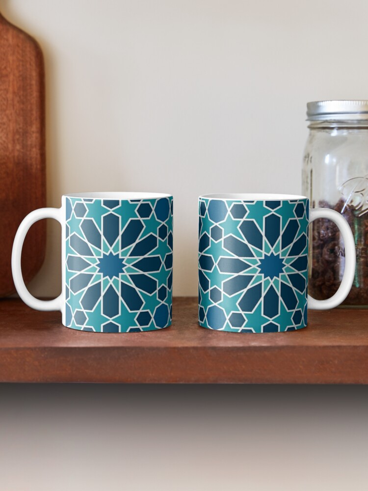 Alternate view of Moroccan tiles 5 Mug