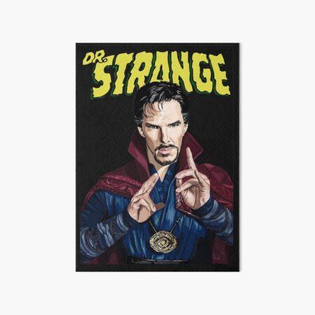 """Strange"" Art Board Print"