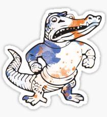 UF Tie Dye Vintage Gator Sticker