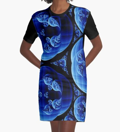 Apollonian Gasket 006 Graphic T-Shirt Dress