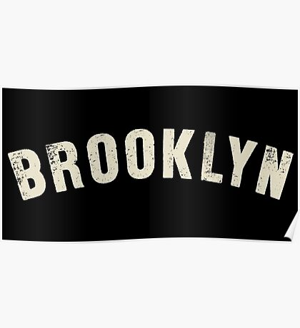 BROOKLYN LETTERPRESS Poster