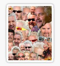 Fieri mashup Sticker