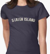 STATEN ISLAND LETTERPRESS Women's Fitted T-Shirt