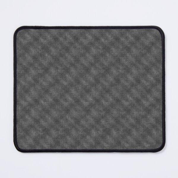 Black Diamond Shaped Abstract Digital Pattern Artwork Merchandise Mouse Pad