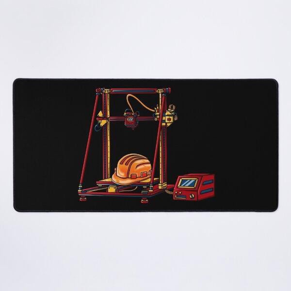 3D Printer #6 Made By Engineer Desk Mat