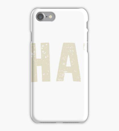 MANHATTAN LETTERPRESS iPhone Case/Skin
