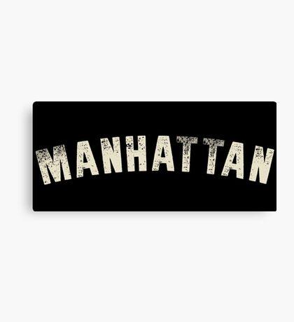 MANHATTAN LETTERPRESS Canvas Print