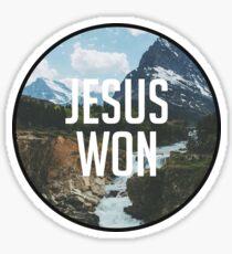 Pegatina Cita cristiana