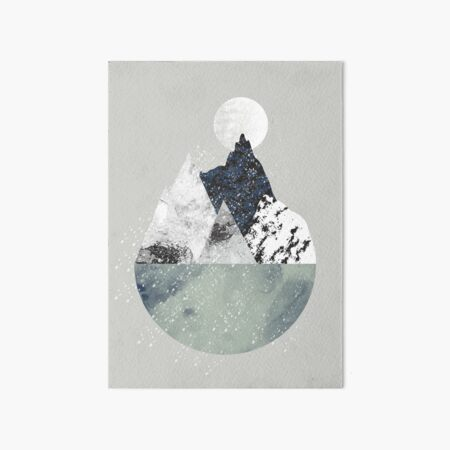 Winter Art Board Print