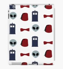 Doctor Who 11th Doctor Pattern  iPad Case/Skin