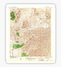 USGS TOPO Map California CA Poway Valley 296428 1942 31680 geo Sticker