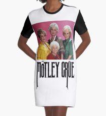 Goldene Mädchen Mädchen Mädchen T-Shirt Kleid